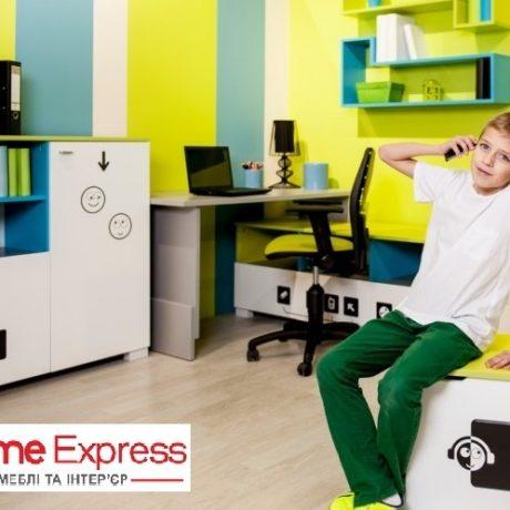 """Увага   вже незабаром розпочнеться шкільний сезон  в ТЦ """"Home Express"""", збільшення виставкових дитячих  меблів, акційні пропозиції та знижки."""