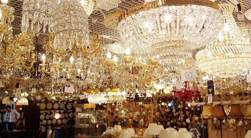 Магазини люстр і освітлення в Тернополі